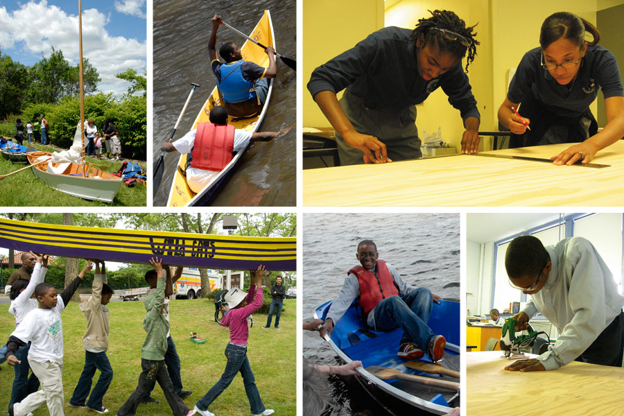 Project U.S.E. Boatbuilding Program for Teens