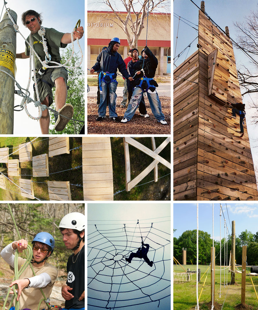 Project U.S.E. Special Projects - Ropes Courses and Climbing Walls for Schools and Communities
