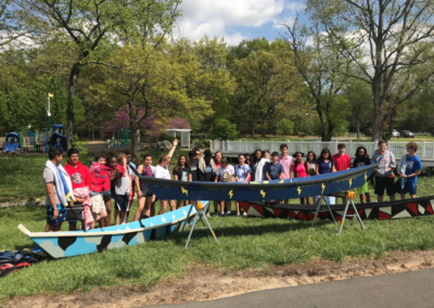 Boat Building Launch Photo - Chapin School