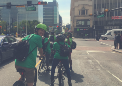 Pedal Farmers - Riding In Downtown Newark
